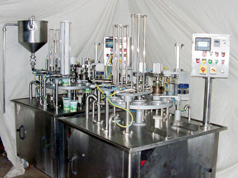 AUTOMATIC CURD FILLING MACHINE