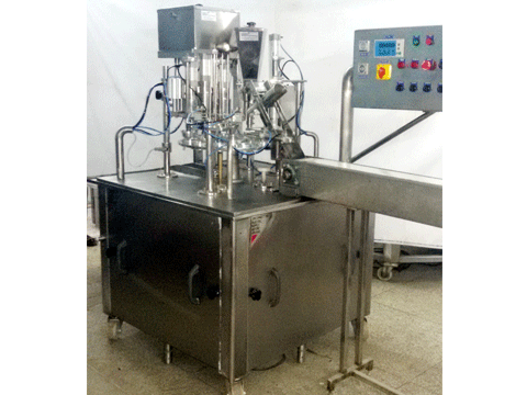 ICE CREAM CUP & CONE FILLING MACHINE